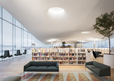 Bibliotekets smarta materialhantering